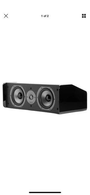 "Polk Audio CS10 Center Channel Speaker with Dual 5-1/4"" Drivers for Sale in Orlando, FL"