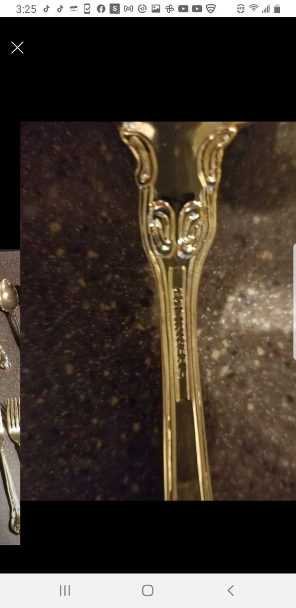 Vintage 1950's Goldfinger flatware set