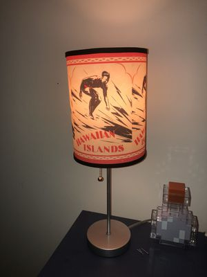 Hawaiian Islands surf lamp for Sale in Annapolis, MD