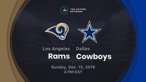 Rams vs cowboys 12/15/19 for Sale in Dallas, TX