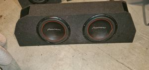 Pioneer 12 inch subwoofers and box for Sale in Westmont, IL