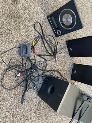 Teac Micro Hi-Fi System With Subwoofer for Sale in San Bernardino, CA