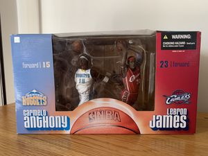 LeBron James/Carmelo Anthony Macfarlane sports Double Pack for Sale in TEMPLE TERR, FL