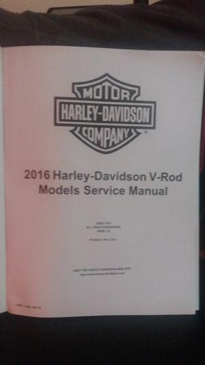 Brand new harley davidson Vrod service manual for Sale in Winter Haven, FL