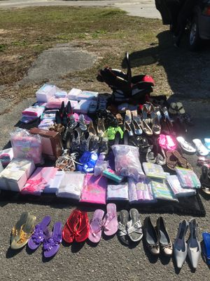 New baby items, shoes, car seat much more for Sale in Kinston, NC