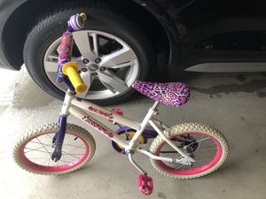 Huffy kids girls bike 14 inch for Sale in Austin, TX