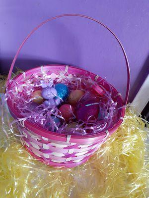 Easter basket for Sale in Sacramento, CA