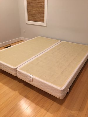 Box Springs and Adjustable Metal Bed Frame for Sale in Washington, DC