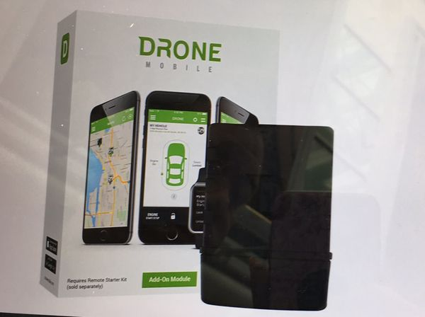 Drone Mobile Smart Phone Vehicle Control and GPS Tracking System