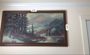 Big and very nice walk picture in good frame for Sale in Renton, WA