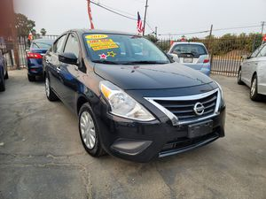 2018 NISSAN VERSA SV AUTOMATIC TRANSMISSION. ZERO DOWNPAYMENT ON APPROVED CREDIT for Sale in Modesto, CA