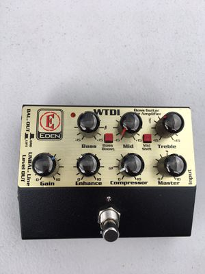 Eden World Tour DI Bass Preamp for Sale in Los Angeles, CA