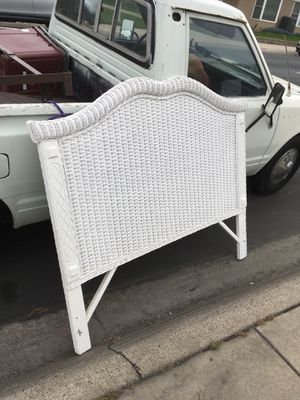 Twin headboard and rails for Sale in Seal Beach, CA