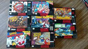 Super Nintendo SNES games for Sale in McKeesport, PA