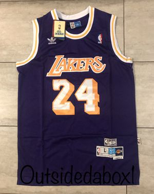 Lakers Kobe Bryant Basketball Jersey men's size Large for Sale in Ontario, CA
