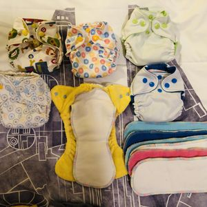 Newborn Cloth Diapers - Lot of 13 for Sale in North Las Vegas, NV