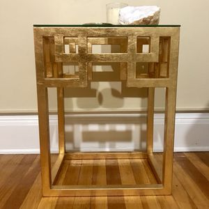 Modern gold side table for Sale in Seattle, WA