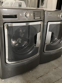 Maytag Maxima Front Loading 4.3 cu.ft & 7.4 cu.ft Gas Dryer for Sale in Hesperia,  CA