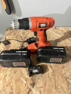Black and decker drill for Sale in Moxee, WA