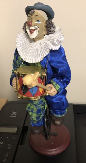 Collectible clown for Sale in undefined