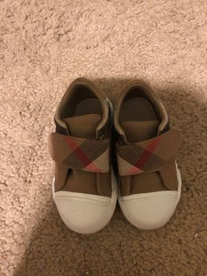 Burberry shoes kids size 21 fits a 5 c for Sale in Philadelphia, PA