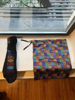 *Exclusive* Gucci Psychedelic Collection Socks and Bag for Sale in New York, NY