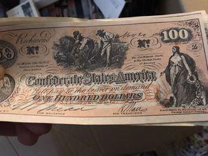Confederate money for Sale in San Jose, CA