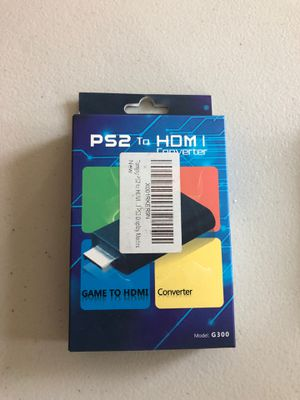PS2 to HDMI Converter for Sale in Corona, CA