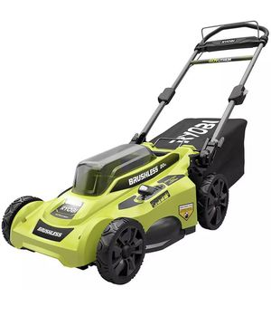 Ryobi 20 in 40-Volt Brushless Lithium-Ion Cordless Battery Walk Behind Push Lawn Mower. BATTERY & CHARGER NOT INCLUDED. for Sale in Los Angeles, CA