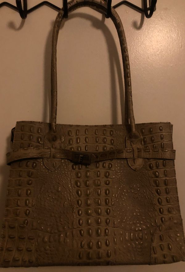 Italian Genuine Leather Handbag - Good Condition