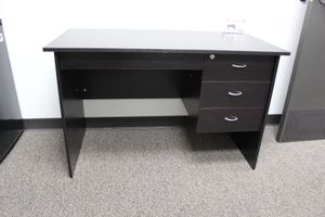 Student Desk with Locker Drawer, Red Cocoa for Sale in Pico Rivera, CA