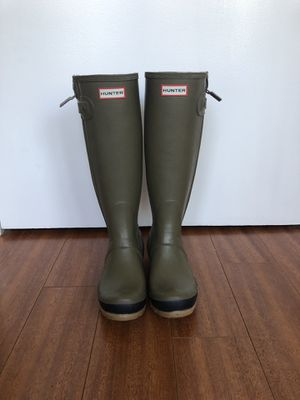 Hunter rain boots, women's size 6 for Sale in West Hollywood, CA