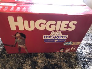 Diapers size 6 brand new. 120 counts. for Sale in Murray, UT