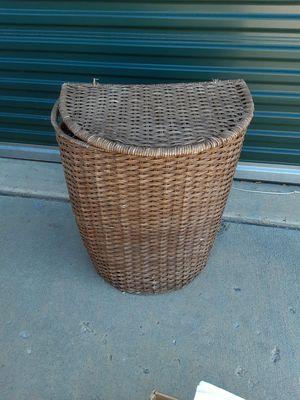 Wicker laundry basket for Sale in Colorado Springs, CO