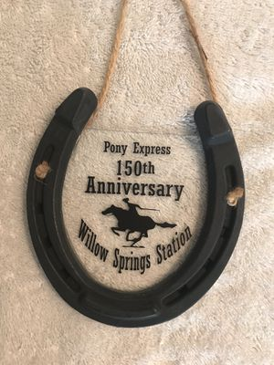 Pony Express 150 horseshoe for Sale in Salt Lake City, UT