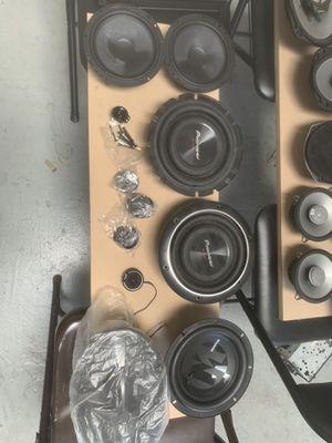 Open box speakers for Sale in Sacramento, CA