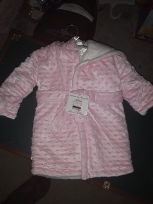 Girls pink robe and owl pajamas set for Sale in Dallas, TX