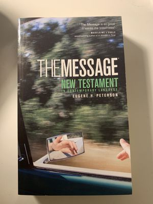 The Message - New Testament in Contemporary Language for Sale in Los Angeles, CA