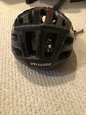 Specialized black bicycle helmet for Sale in Chevy Chase, MD