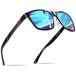 ATTCL Men's Retro Polarized Sunglasses For Men, Black/Blue for Sale in Long Beach, CA