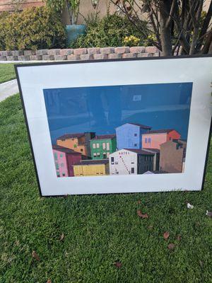 Beautiful High Quality💕💕 33 x 32 Colorful Aluminum Edge Wall Decorative Artwork (motel) for Sale in Alta Loma, CA