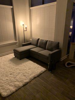 Gray Sectional 78'' for Sale in Atlanta, GA