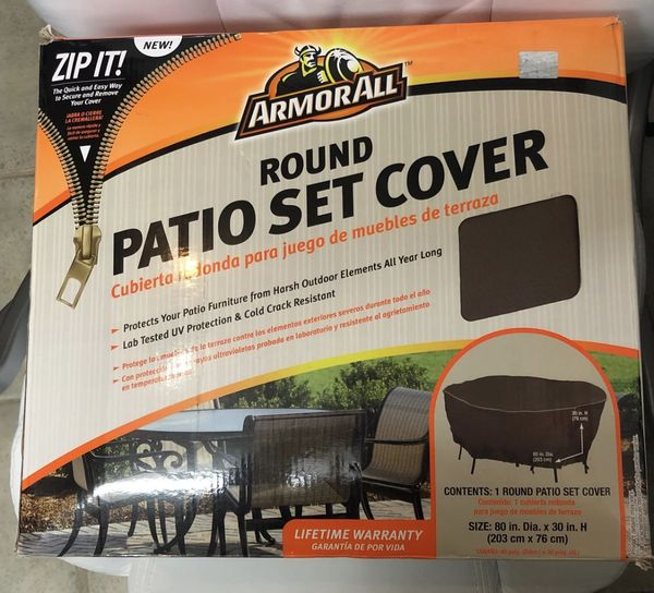 Armor All 80x30 Patio Set Cover