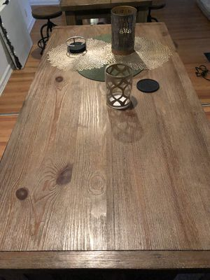 Ashley Dining/Pub table with stools for Sale in Huntington Beach, CA