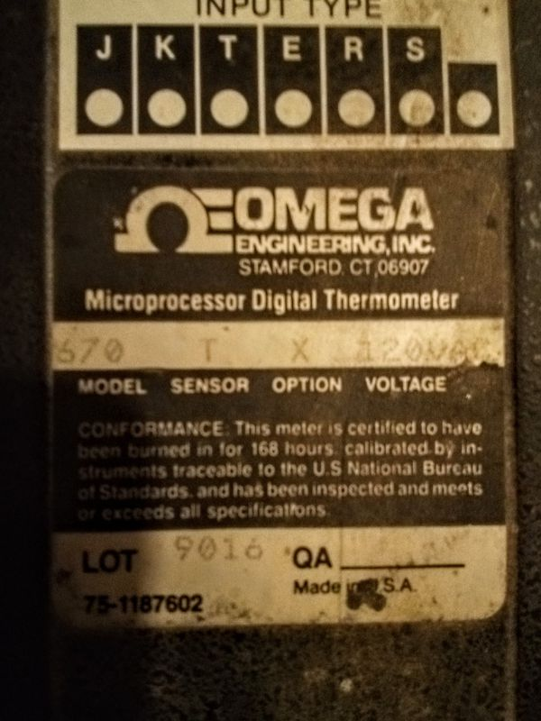 Thermocouple Thermometor Model 670