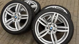 Genuine BMW f10 19inch rims with michelin tires for Sale in Los Angeles, CA
