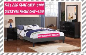 Full and Queen Bed Frame for Sale in Pomona, CA