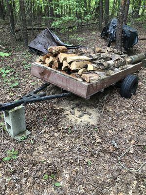 Utility Trailer - Off road use only (includes split wood) for Sale in Hillsborough, NC