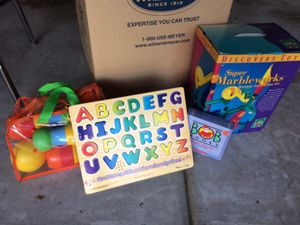 Toys/Puzzles/Games/Crafts - LARGE BOX for Sale in Chapel Hill, NC