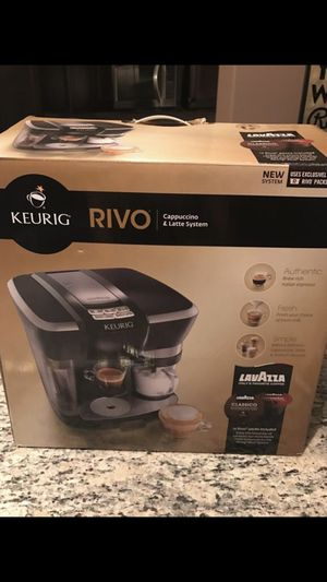 Keurig Rivo coffee machine for Sale in Little Elm, TX